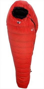 Force 10 Vulcan -12° Winter Camping Sleeping Bag, Regular Lava LZ