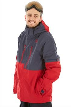 Scott Ultimate Dryo10 Insulated Snowboard/Ski Jacket, L Wine Red