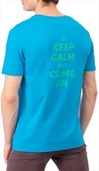 3rd Rock Adult Unisex Keep Calm T-Shirt Organic Cotton Tee, L Capri