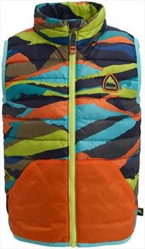 Burton Kids Evergreen Down Insulator Vest Body Warmer, 4T Summit Strpe