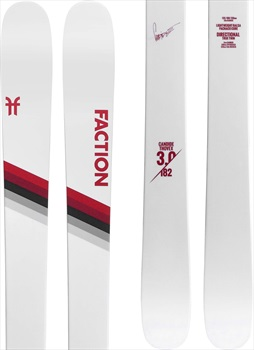 Faction Candide CT 3.0 Ski Only Skis, 178cm White/Red 2020