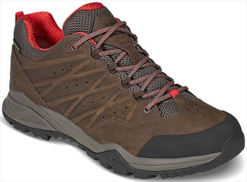 The North Face Hedgehog Hike II GTX Walking Shoes, UK 11 Brown/Red