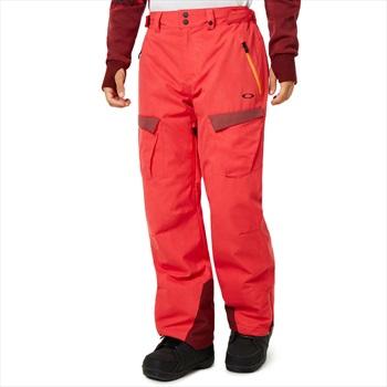 Oakley Regulator 2.0 Insulated Snowboard/Ski Pants, L High Risk Red