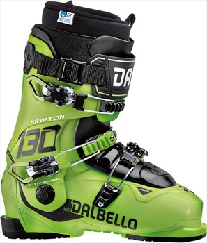 Dalbello Krypton 130 ID Ski Boots, 26.5 Lime 2020