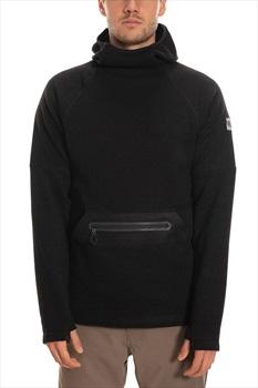 686 Knit Tech Fleece Hoody, L Black Heather