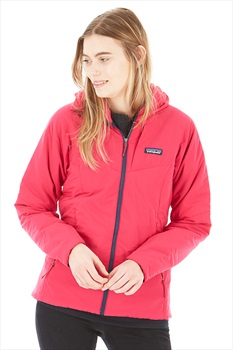 Patagonia Women's Nano Air Hoody Insulated Stretch Jacket L Craft Pink