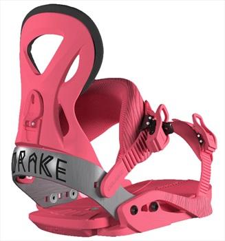 Drake Womens Jade Women's Snowboard Bindings, M (UK 3-7.5) Pink 2019