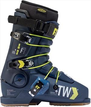 Full Tilt Tom Wallisch Pro Ski Boots, 27/27.5 Blue/Yellow 2020