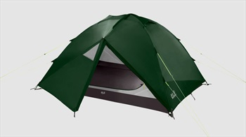 Jack Wolfskin Eclipse III Dome Camping Tent, 3 Man Green