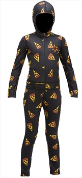 Airblaster Youth Ninja Age: 8-10 Thermal One Piece Suit, M Pizza