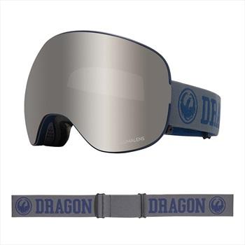 Dragon X2 LumaLens Silver Ion Snowboard/Ski Goggles, L Collegiate