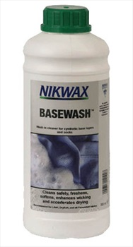 Nikwax Base Wash Baselayer Cleaner, 1 Litre White