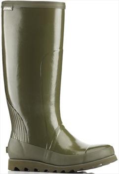Sorel Joan Rain Tall Gloss Women's Wellington Boots, UK 3 Nori/Zest