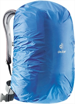 Deuter Hi Vis Square Rucksack/Backpack Rain Cover, 20-32L Cool Blue