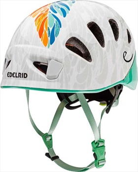 Edelrid Shield 2 Kids Helmet Kids Climbing Helmet, 48 – 56cm Jade