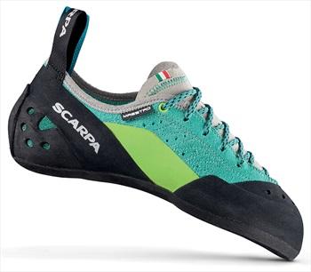 Scarpa Womens Maestro Rock Climbing Shoe: UK 4   EU 37, Teal