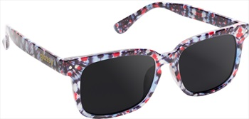 Glassy Sunhaters Lox Sunglasses Tie Dye Grey Lens
