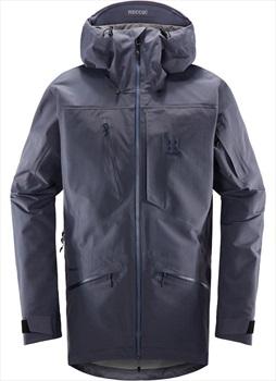 Haglofs Nengal 3L PROOF Ski/Snowboard Parka Jacket, XL Dense Blue