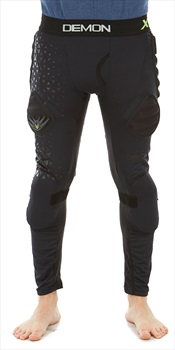 Demon X D30 Flex Force Ski/Snowboard Impact Pants, S Black