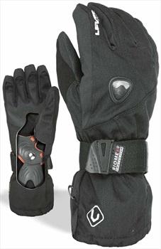 Level Fly Glove JR Kid's Snowboard/Ski Gloves, XL Black