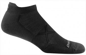 ##BRANDNAME# Vertex No-Show Tab Ultra-Light Running Socks, XL Black