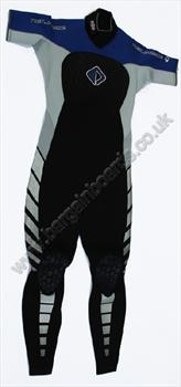NPX SS Steamer 3 / 2 Wetsuit Small Tall 94 Black Blue