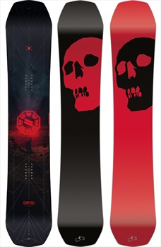 Capita Black Snowboard Of Death Camber Snowboard, 165cm 2020