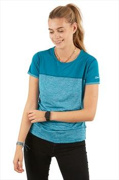 Berghaus Voyager Tech Women's Short Sleeve T-Shirt, L Tahitian Tide