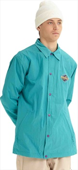 Analog Sparkwave Coaches Ski/Snowboard Jacket, L Green-Blue Slate