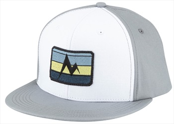 Marmot Origins Cap 5-Panel Flat Bill Hat, Grey Storm