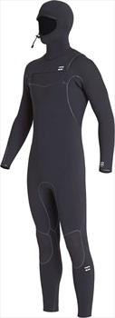 Billabong Furnace Ultra 5/4 Hooded Wetsuit, Medium Black