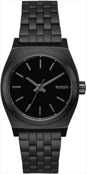 Nixon Medium Time Teller Women's Watch, All Black