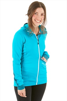 Ortovox Women's (MI) Merino Fleece Light Technical Hoody, L Aqua