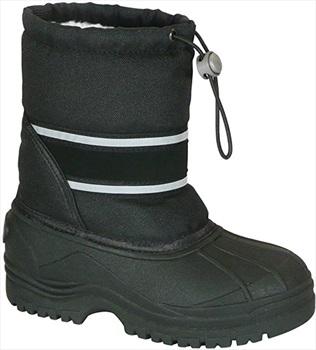 Manbi Child Unisex Arctic Kid's Snow Boots, UK Kids 8-9 Black