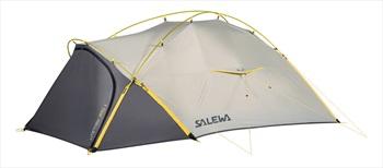 Salewa Litetrek Pro 2 Tent Lightweight Trekking Shelter, 2 Man Grey
