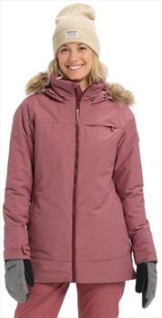 Burton Lelah Women's Ski/Snowboard Jacket, S Rose Brown