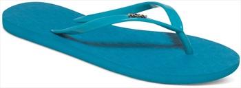 Roxy Viva II Women's Flip Flops, UK 3, Jade