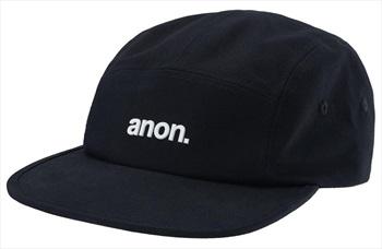Anon 5 Panel Cap Hat, One Size Black