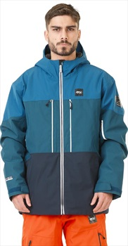 Picture Object Insulated Snowboard/Ski Jacket, L Blue