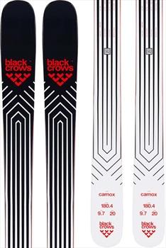 Black Crows Adult Unisex Camox Skis, 180cm Black/White/Red 2020