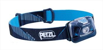 Petzl Tikkina Compact IPX4 Headtorch, 250 Lumens Blue