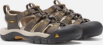 Keen Adult Unisex Newport H2 Walking Sandals, Uk 12 Raven/Aluminium