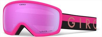 Giro Ringo Vivid Pink Snowboard/Ski Goggles M Black/Pink ThrowBack