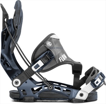 Flow NX2 Hybrid Step In Snowboard Bindings, L Midnight 2020