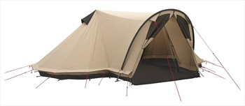 Robens Trapper Twin Tent Polycotton Camping Tent, 4 Man Brown