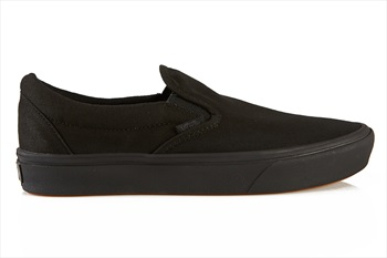 Vans ComfyCush Slip-On Skate Shoe, UK 10 Black/Black