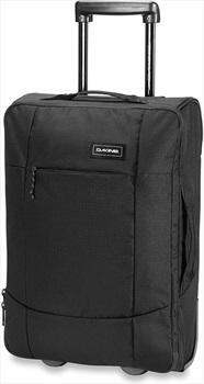 Dakine Carry On EQ Roller Wheeled Bag/Suitcase, 40L All Black