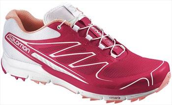 Salomon Sense Pro W Running Shoe UK 9 Lotus Pink/White