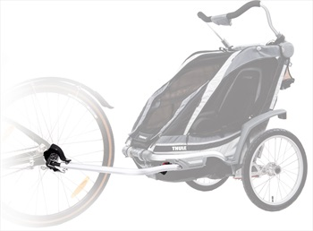 Thule Chariot Cycling CTS Kit Child Carrier Conversion Kit Silver