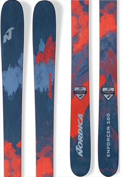 Nordica Enforcer 100 *Miss Drill* Skis, 177cm Red/Blue 2019